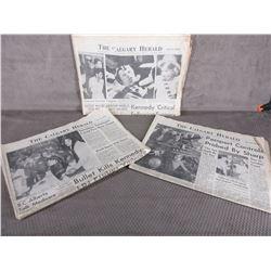 3 - Calgary Herald Newspapers