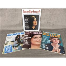 4 - Magazines about Jacqueline Kennedy
