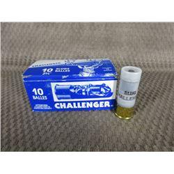 12 ga 2 3/4 Challenger Rifled Slug Box of 10
