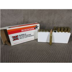 338 Winchester Box of 10 Live Rnds & 10 Brass