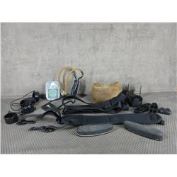 Lot of Misc. - Shooting Bag,  Straps, Butt Pads, ect.