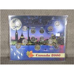 Set of 12 - 2000 Quarters & 1 - 2000 Toonie