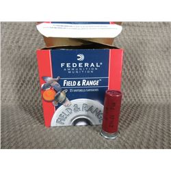"12 Ga 2 3/4""  1 box of 24 Federal with 1 1/8 oz of #7 1/2"