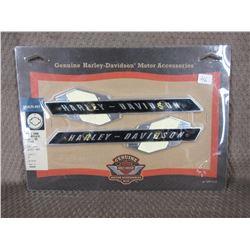 Harley Fuel Tank Name Plates Part # 61777-63T