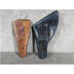 2- Leather Holsters