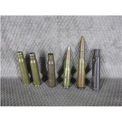 50 Caliber - 6 Cartridges