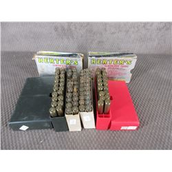 6.5 X 55MM Reloads - 4 Boxes (Sold as Componets)