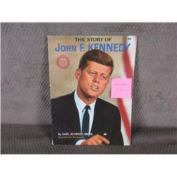 John F. Kennedy by Earl Schenck Miers