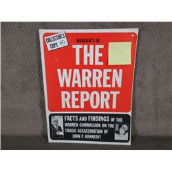 Highlights of the Warren Report