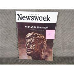 Newsweek Oct 5, 1964 The Assassination