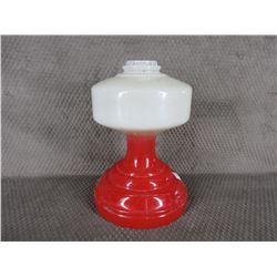 Red & White Lantern Base