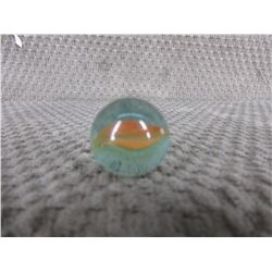 Vintage Orange Cats Eye Marble 1 inch