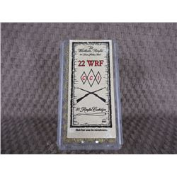 22 WRF, Box of 50, Winchester 45GR Hollow Point