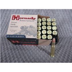 218 Bee, Box of 25, Hornady 45 Gr HP
