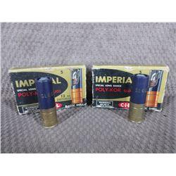 """12 Ga 2 3/4"""", 2 Boxes of 5, Imperial 7/8 oz Slugs"""