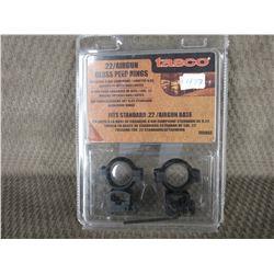 Tasco .22/Airgun Gloss Peep Rings