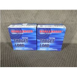 "12 Ga 2 3/4"" 2 Boxes of 25 Challenger 7.5 Shot 1 1/8 oz"