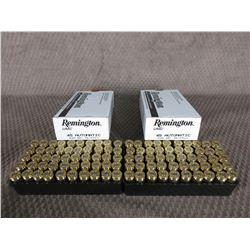 45 Auto 2 Boxes of 50, Remington 230 Gr FMJ