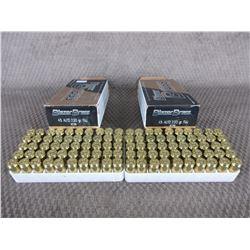 45 Auto 2 Boxes of 50, Blazer Brass 230 Gr FMJ