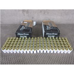 9mm Luger 2 Boxes of 50, Blazer Brass 124 Gr FMJ