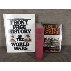 3 World War Books