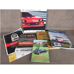7 Car Books/Pamplets