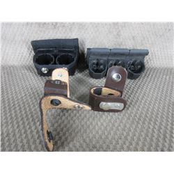2 Speed Loaders & 2 Leather Pieces