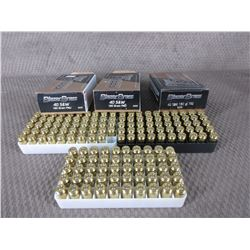 40 S&W 2 Boxes of 50, 1 of 49, Blazer Brass 180 Gr FMJ