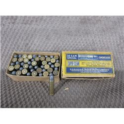 38 S&W Box of 50, CIL Lead Collector Ammo