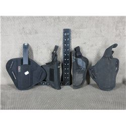 4 Nylon Holsters