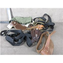 Lot of Various Slings & Leather Items