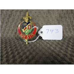 French Military Badge