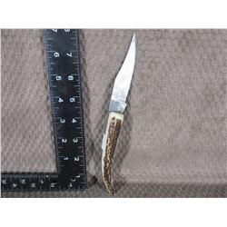 Fox & Hound Damascus Knife