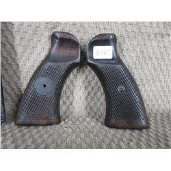 Unknown Wood Pistol Grips