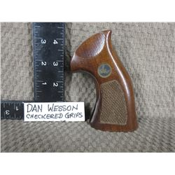 Dan Wesson Checkered Grips