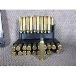 7MM Rem Mag Brass - 39 Pieces