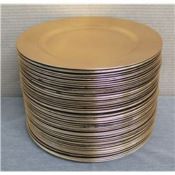 "Qty Approx. 50 Round Plates 13"" Diameter"