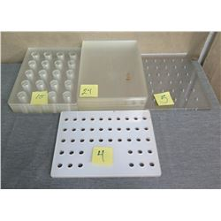 Multiple Perforated Plastic Trays 16 L x 12 W