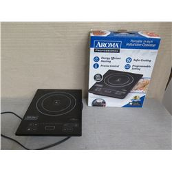 "Aroma Professional Portable 11"" Induction Cooktop"