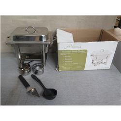 Alegacy Stainless Steel Chafer w/ Dome Cover in Box
