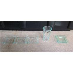 Qty Approx. 100 Plastic 3-Section Trays, 100 Plastic Square Bowls & 100 Plastic Shot Glasses