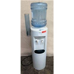 Hot & Cold Water Dispenser Cooler w/ Water Bottle