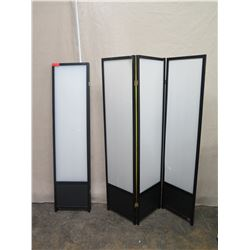 4-Panel Screen (1 Panel Disattached)