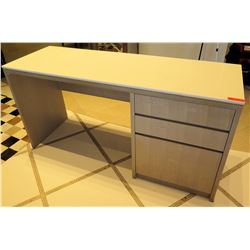 "Wooden Desk w/ 3 Drawers 71""L x 24""W x 35""H"