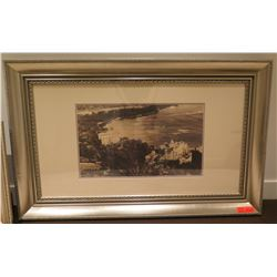 "Old Hawaii Scene Photographic Print 47"" x 30"" Framed & Matted"