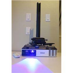 Epson WXGA HDMI Projector w/ Remote & Ceiling Mount