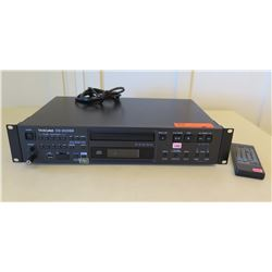 Tascam CD-200SB Professional CD Player w/ MP3, USB & SD/SDHC Card Function