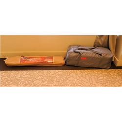 Ozark Trails Twin Size Camp Cot in Carry Bag & Gray Bag