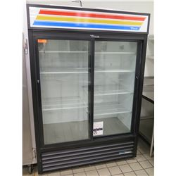 True GDM-47-HC-LD Glass Door Merchandiser Refrigerator