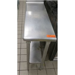 Industrial Work Table w/ Undershelf 38 L x 13 W x 35 H